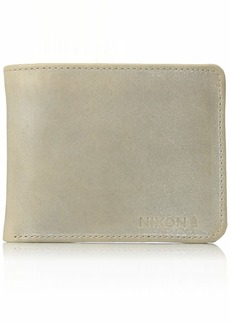 Nixon Men's Stealth Slim Bi-fold Wallet oyster  Fits All