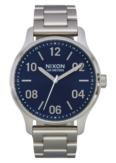 Nixon Patrol Bracelet Watch, 44mm