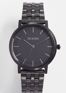 Nixon Porter Gunmetal Watch, 35mm