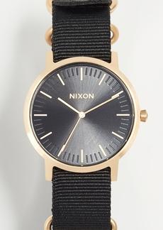 Nixon Porter Nylon Watch, 40mm