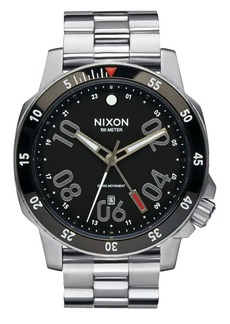 Nixon Ranger GMT Stainless Steel Watch