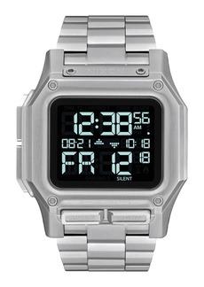 Nixon Regulus Digital Bracelet Watch, 46mm