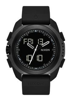 Nixon Ripley Ana-Digi Silicone Strap Watch, 47mm