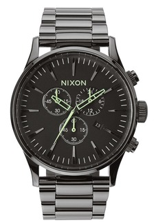 Nixon Sentry Chronograph Watch