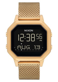 Nixon Siren Digital Bracelet Watch, 36mm