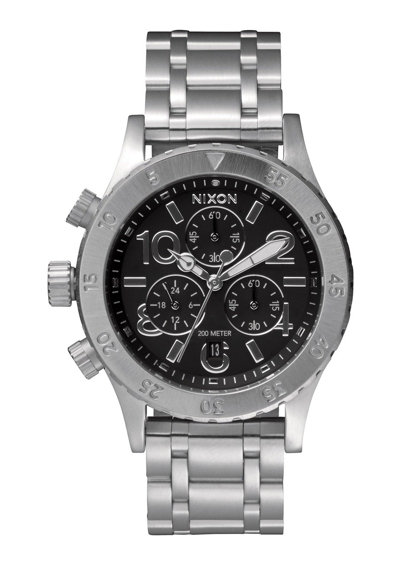 Nixon 'The 38-20' Chronograph Bracelet Watch, 38mm
