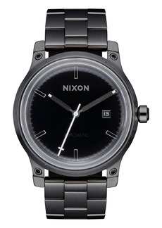 Nixon The 5th Element Automatic Bracelet Watch, 42mm