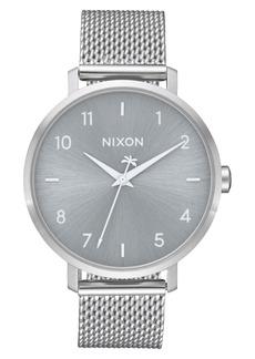 Nixon The Arrow Milanese Mesh Strap Watch, 38mm