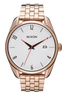 Nixon 'The Bullet' Bracelet Watch, 38mm