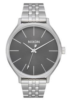 Nixon The Clique Bracelet Watch, 38mm