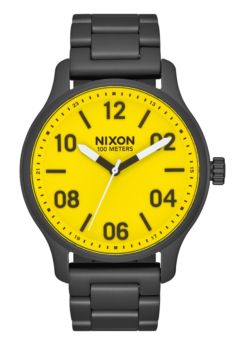 Nixon The Patrol Bracelet Watch, 42mm
