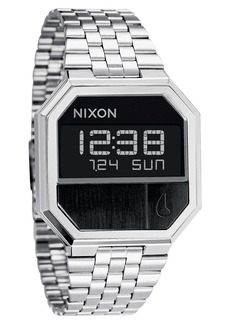 Nixon 'The Re-Run' Stainless Steel Bracelet Watch