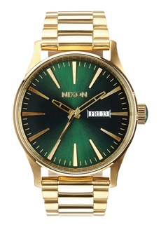 Nixon 'The Sentry' Bracelet Watch, 42mm
