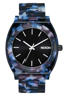 Nixon The Time Teller Acetate Bracelet Watch, 40mm