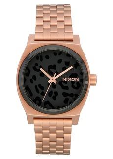 Nixon The Time Teller Bracelet Watch, 31mm