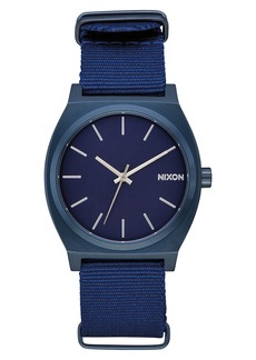 Nixon The Time Teller NATO Strap Watch, 37mm