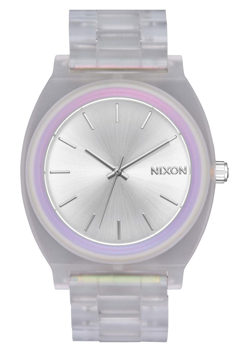 Nixon Time Teller Acetate Bracelet Watch, 40mm