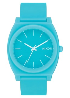 Nixon Time Teller P Polyurethane Strap Watch, 40mm