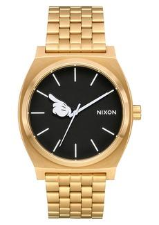Nixon x Disney Time Teller Mickey Bracelet Watch, 37mm