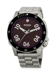 Nixon Round Stainless Steel Bracelet Watch