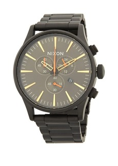 Nixon Sentry Chrono Stainless Steel Bracelet Watch
