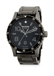 Nixon Stainless Steel Swiss Bracelet Watch
