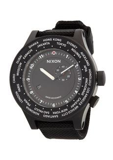 Nixon Stainless Steel Textured Strap Watch