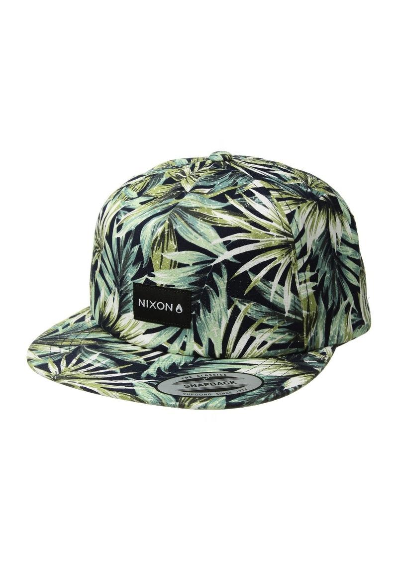 5452a6d80c5ea Nixon Tropics Snapback Hat