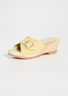 No.6 Abuela Mid Wedge Clogs