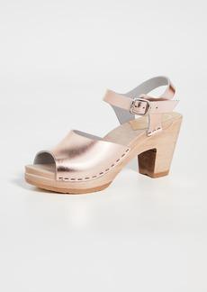 No.6 Erika High Heel Clogs