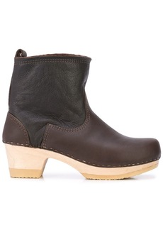 No.6 shearling-lined ankle boots