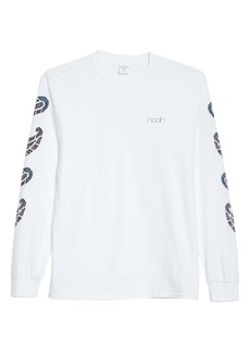 Noah Floral Paisley Long Sleeve Graphic Tee (Nordstrom Exclusive)