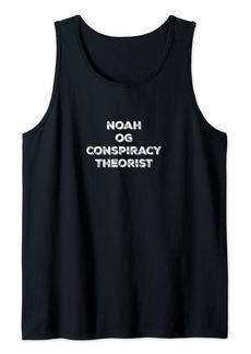 Noah OG Conspiracy Theorist For Truth Seekers Tank Top