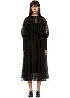Noir Black Tulle Dress