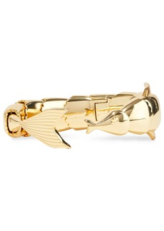 Noir Jewelry Woman 14-karat Gold-plated Cuff Gold