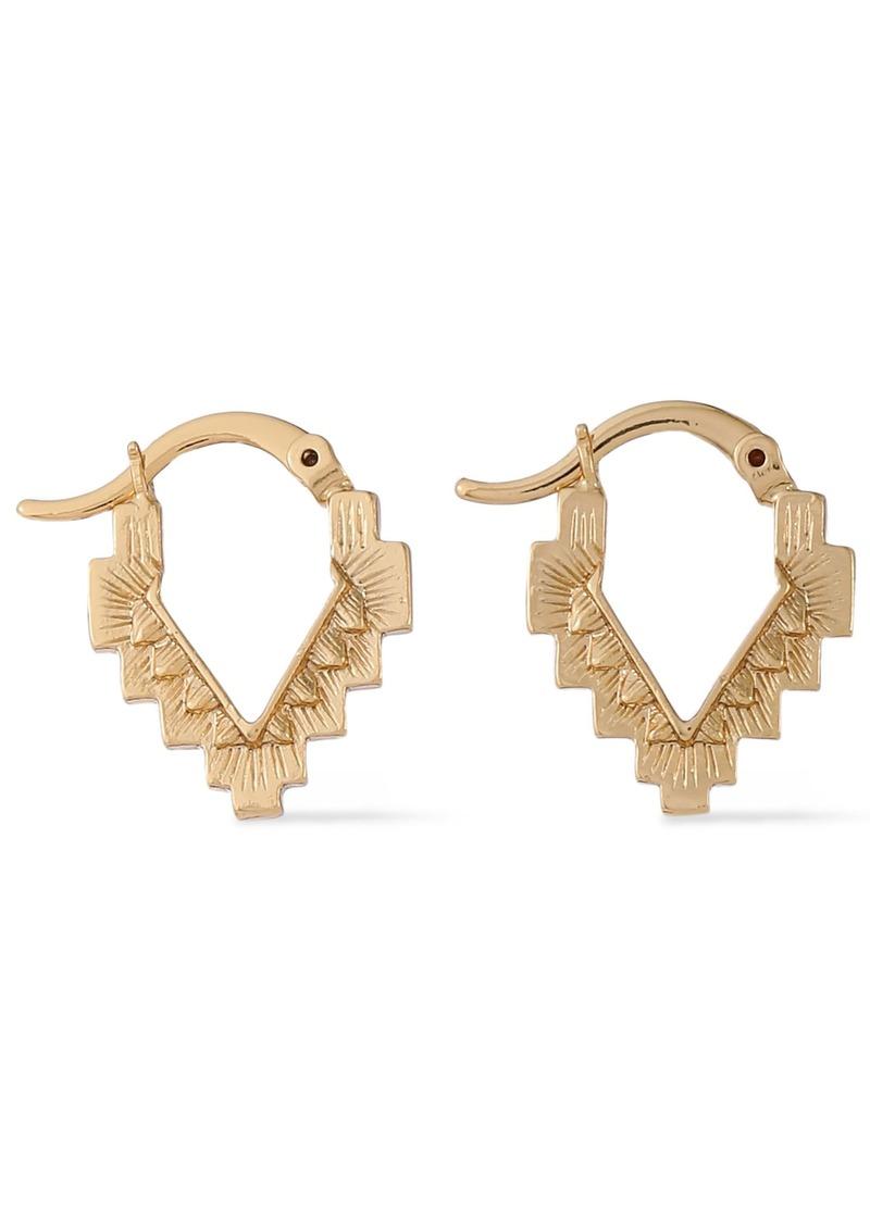 Noir Jewelry Woman 14-karat Gold-plated Earrings Gold