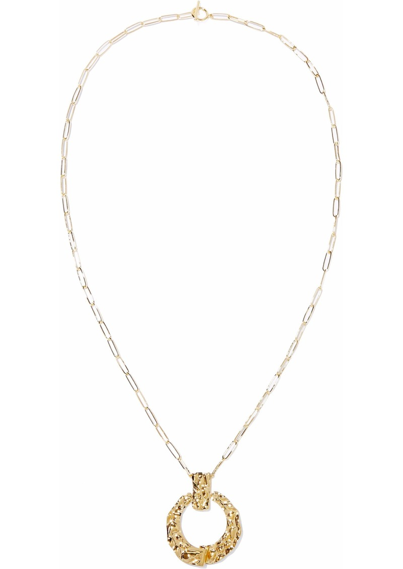 Noir Jewelry Woman 14-karat Gold-plated Necklace Gold