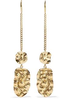 Noir Jewelry Woman Gold-tone Earrings Gold