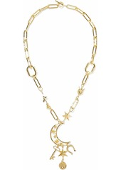 Noir Jewelry Woman Gold-tone Necklace Gold