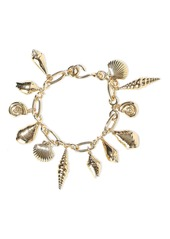 Noir Jewelry Woman Washed Ashore 14-karat Gold-plated Bracelet Gold