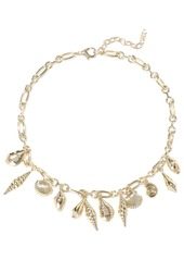 Noir Jewelry Woman Washed Ashore 14-karat Gold-plated Necklace Gold
