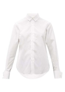 Noir Kei Ninomiya French-cuff cotton shirt