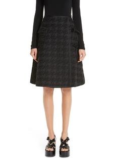 noir kei ninomiya Houndstooth Skirt