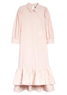 Noir Kei Ninomiya Quilt Drop Waist Dress