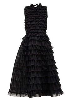 Noir Kei Ninomiya Ruffled tulle dress
