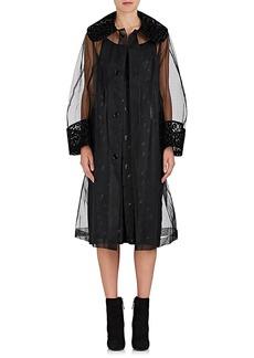 noir kei ninomiya Women's Flocked Tulle Jacket