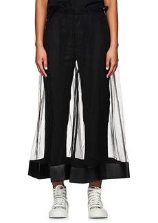 noir kei ninomiya Women's Pleated Tulle Culottes