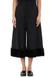 noir kei ninomiya Women's Ruffle-Hemmed Culottes