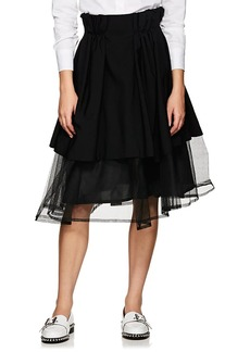 noir kei ninomiya Women's Tulle Layered Full Skirt