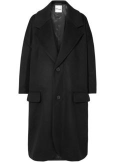 Noir Wool-blend Coat